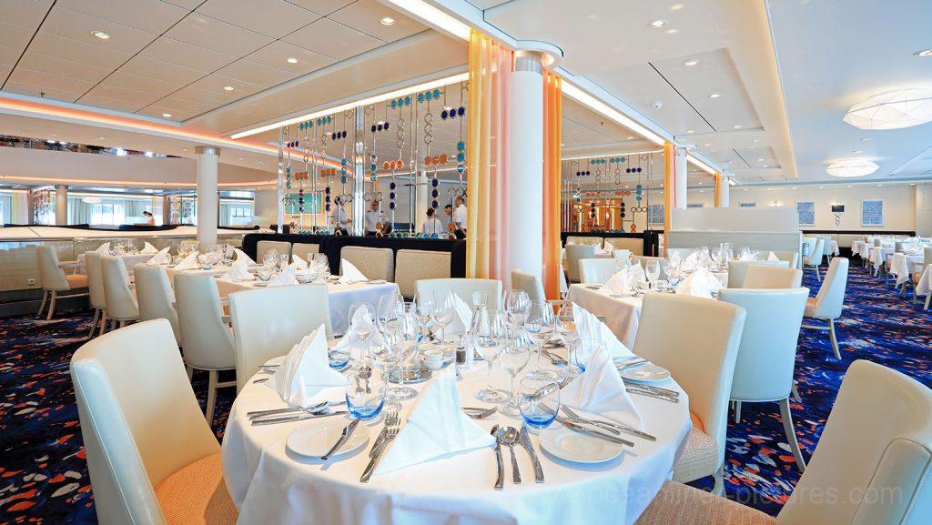 Mein Schiff 6 Atlantik Restaurant Classic. Foto: Oliver Asmussen/oceanliner-pictures.com