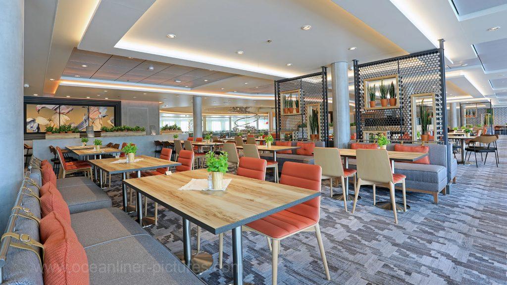 Mein Schiff 6 Atlantik Restaurant Mediterran. Foto: Oliver Asmussen/oceanliner-pictures.com