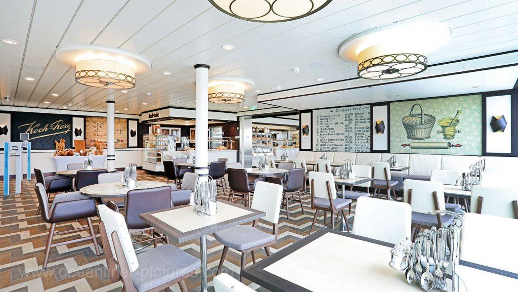 Mein Schiff 6 Backstube. Foto: Oliver Asmussen/oceanliner-pictures.com