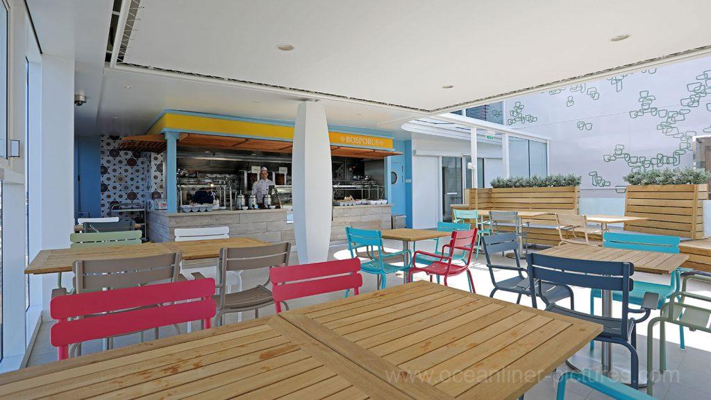 Mein Schiff 6 Bosporus Grill. Foto: Oliver Asmussen/oceanliner-pictures.com
