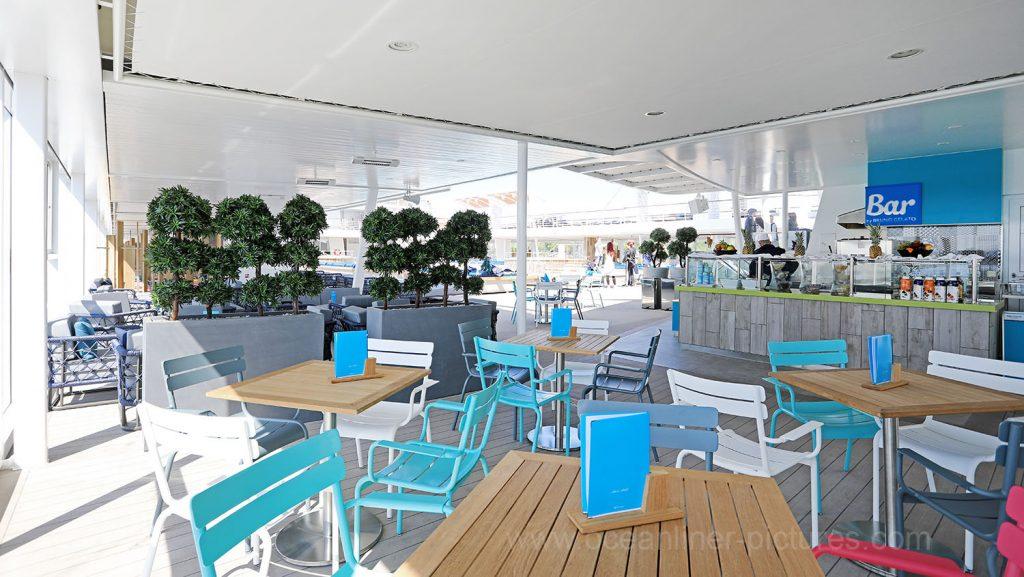 Mein Schiff 6 Eis Bar. Foto: Oliver Asmussen/oceanliner-pictures.com