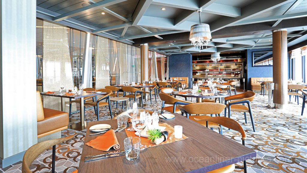 Mein Schiff 6 Surf and Turf Steakhouse. Foto: Oliver Asmussen/oceanliner-pictures.com