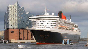 Die Queen Mary 2 von Cunard. Foto: André Lenthe