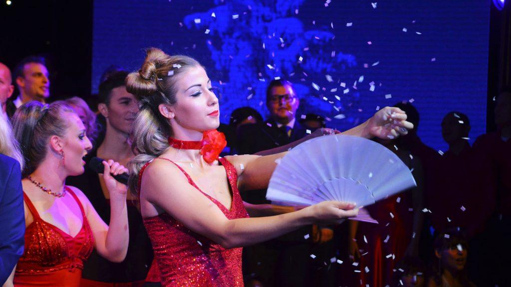 An den Festtagen erwartet die Gäste an Bord eine Gala. Foto: AIDA Cruises