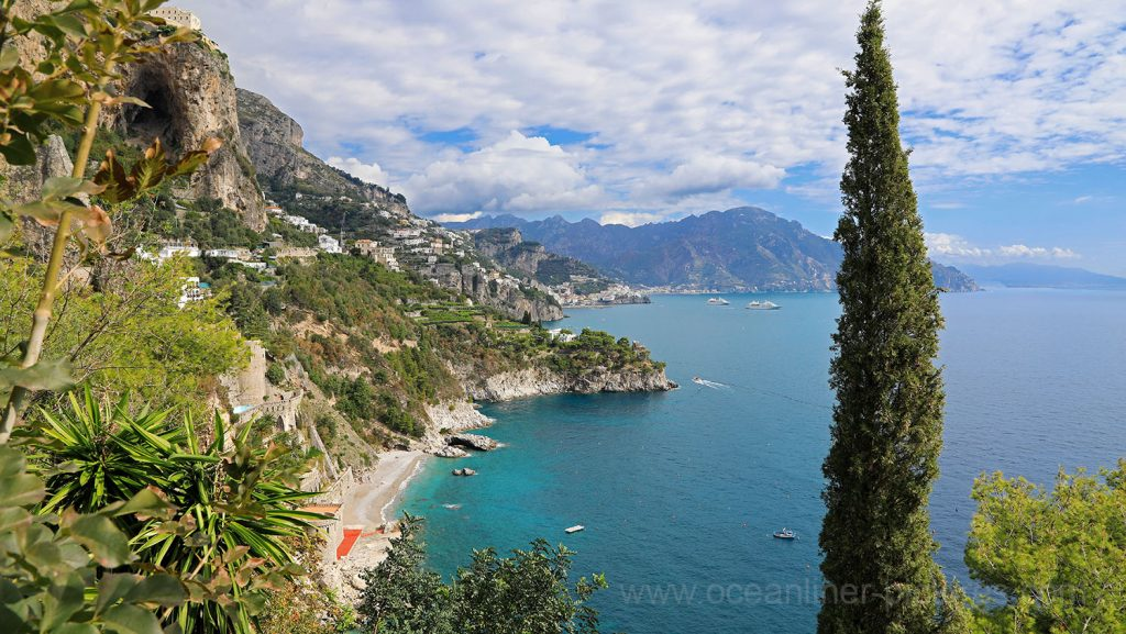 Amalfiküste bei Amalfi, Italien. / Foto: Oliver Asmussen/oceanliner-pictures.com