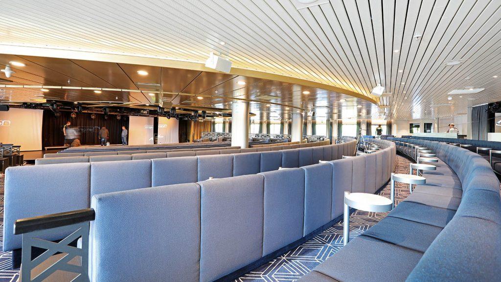 Atlantik Show Lounge MS Artania 28.11.2017. / Foto: Oliver Asmussen/oceanliner-pictures.com