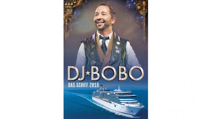 DJ Bobo feiert an Bord der Costa Deliziosa sein 25. Bühnenjubiläum. Foto: Costa Kreuzfahrten