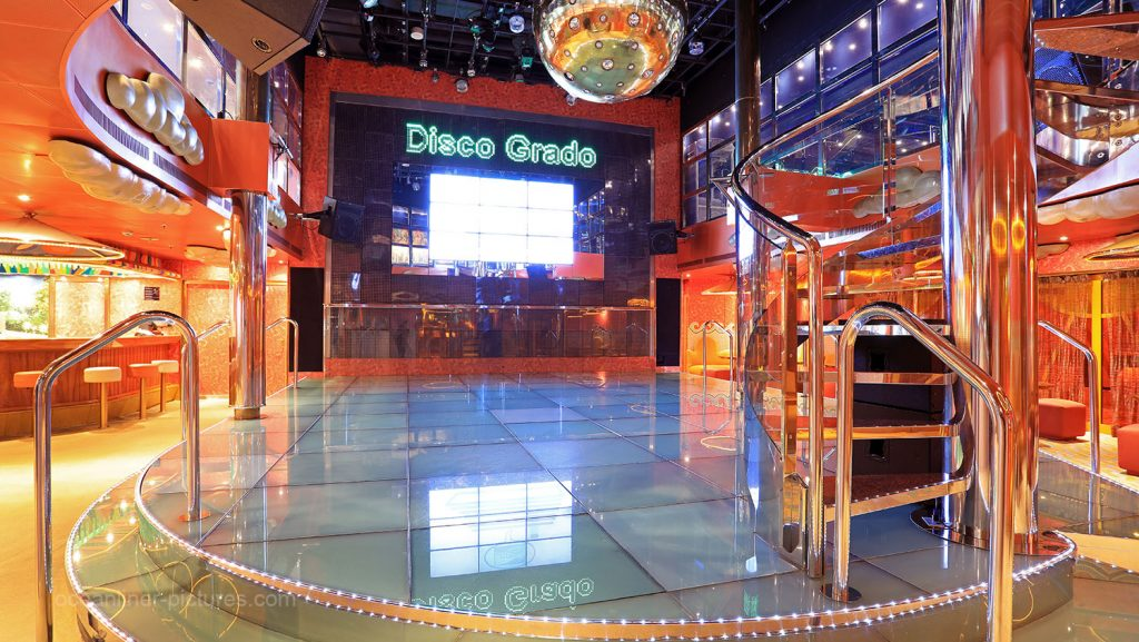 Disco Grado Costa Magica. / Foto: Oliver Asmussen/oceanliner-pictures.com
