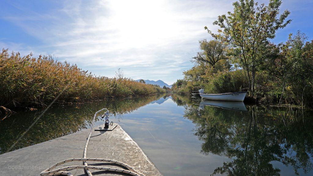 Fahrt mit dem traditionellen Lada auf dem Neretva Fluss in Kroatien. / Foto: Oliver Asmussen/oceanliner-pictures.com