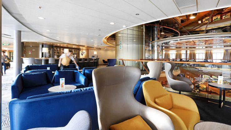 Harrys Bar MS Artania 28.11.2017. / Foto: Oliver Asmussen/oceanliner-pictures.com