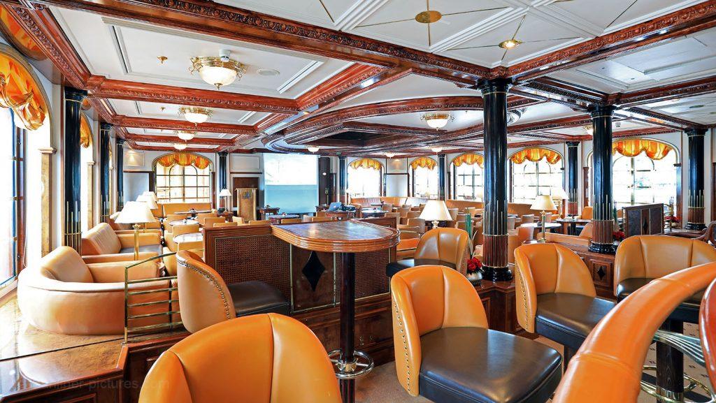 Lounge Sea Cloud II. / Foto: Oliver Asmussen/oceanliner-pictures.com