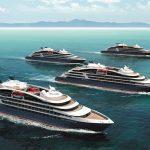 Die vier neuen Ponant-Schiffe. Foto: Ponant Ponant - Sterling Design International
