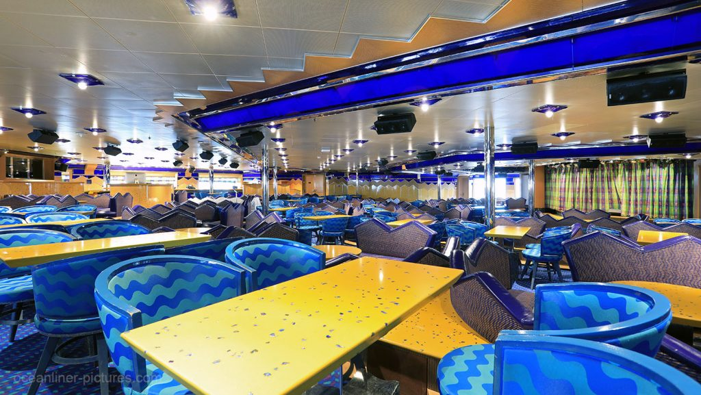 Salone Capri Costa Magica. / Foto: Oliver Asmussen/oceanliner-pictures.com