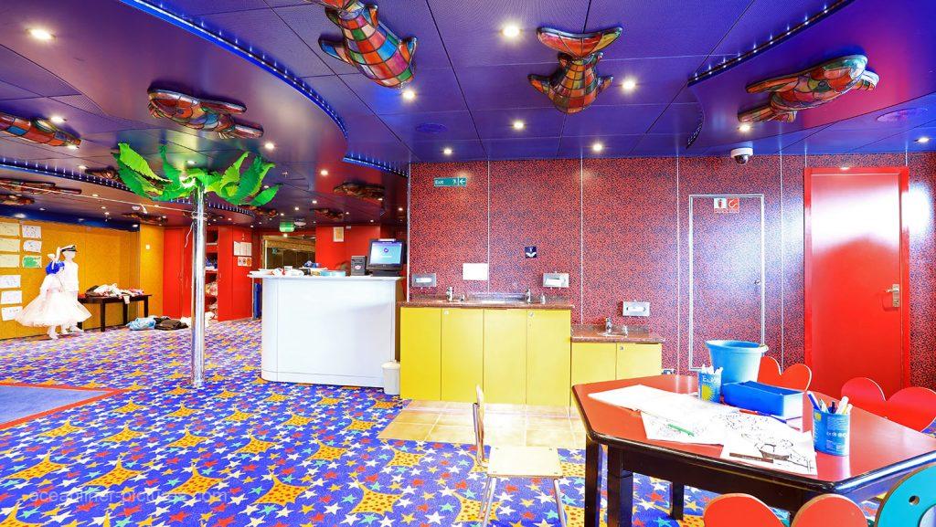 Squok Club Costa Magica. / Foto: Oliver Asmussen/oceanliner-pictures.com