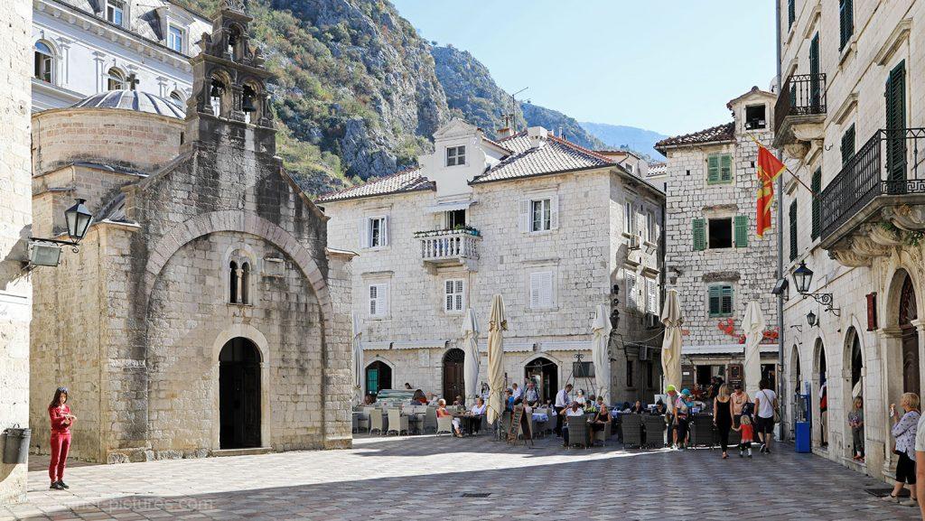 St. Lukas-Kirche in der Altstadt von Kotor, Montenegro. / Foto: Oliver Asmussen/oceanliner-pictures.com