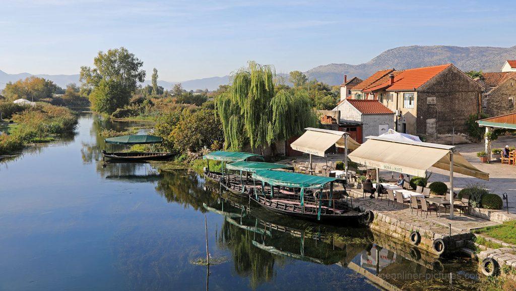 Stadt Vid am Fluss Neretva in Kroatien. / Foto: Oliver Asmussen/oceanliner-pictures.com
