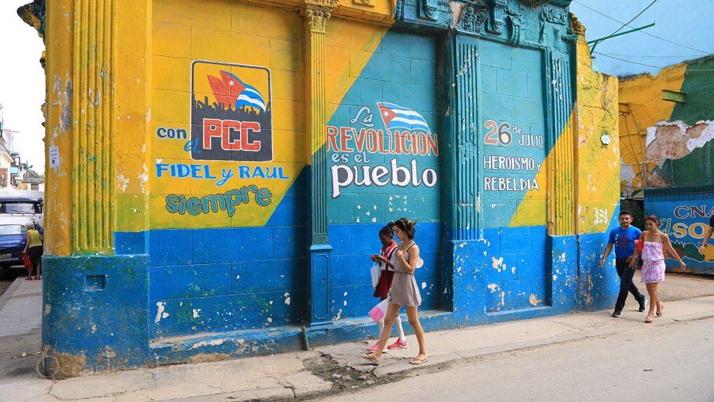 Erinnerungen an die Revolution in den Strassen von Havanna. / Foto: Oliver Asmussen/oceanliner-pictures.com
