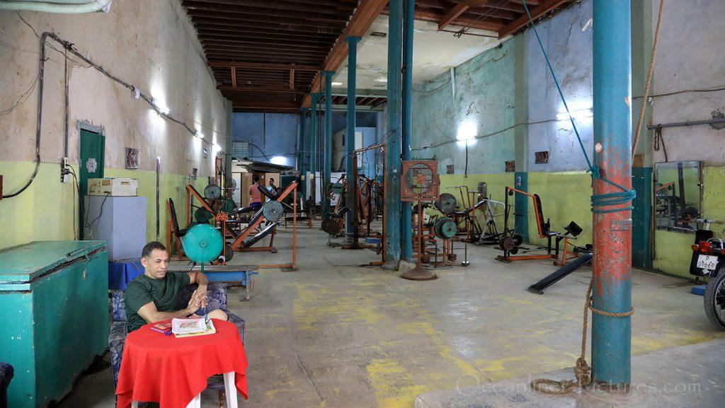 Fitness Center Havanna. / Foto: Oliver Asmussen/oceanliner-pictures.com