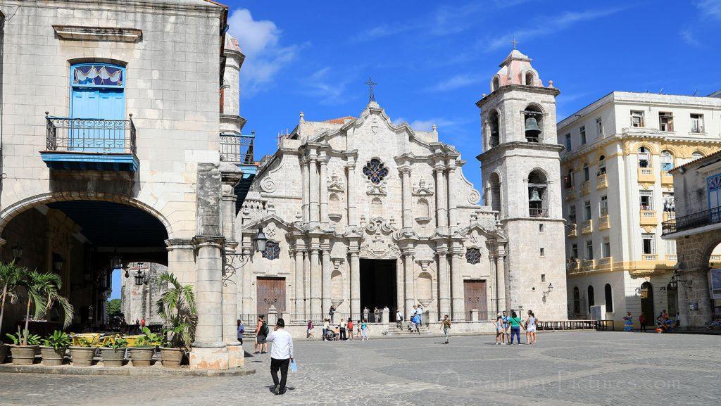 Kathedrale in Havanna. / Foto: Oliver Asmussen/oceanliner-pictures.com