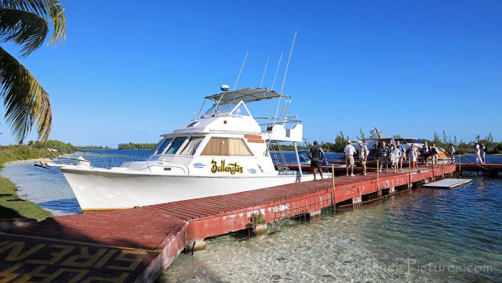 Pier am Playa Sirena Cayo Largo, Kuba. / Foto: Oliver Asmussen/oceanliner-pictures.com