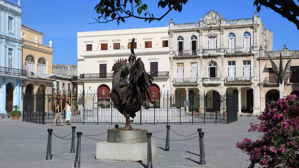 Plaza Vieja Havanna. / Foto: Oliver Asmussen/oceanliner-pictures.com