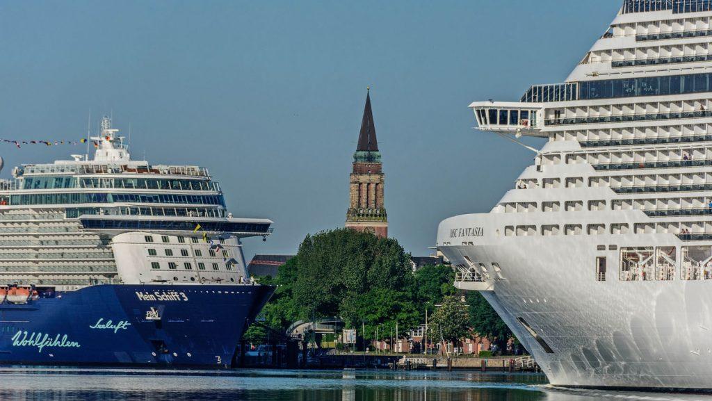 Der Kieler Hafen. Foto: Port of Kiel/Stephan Gergs