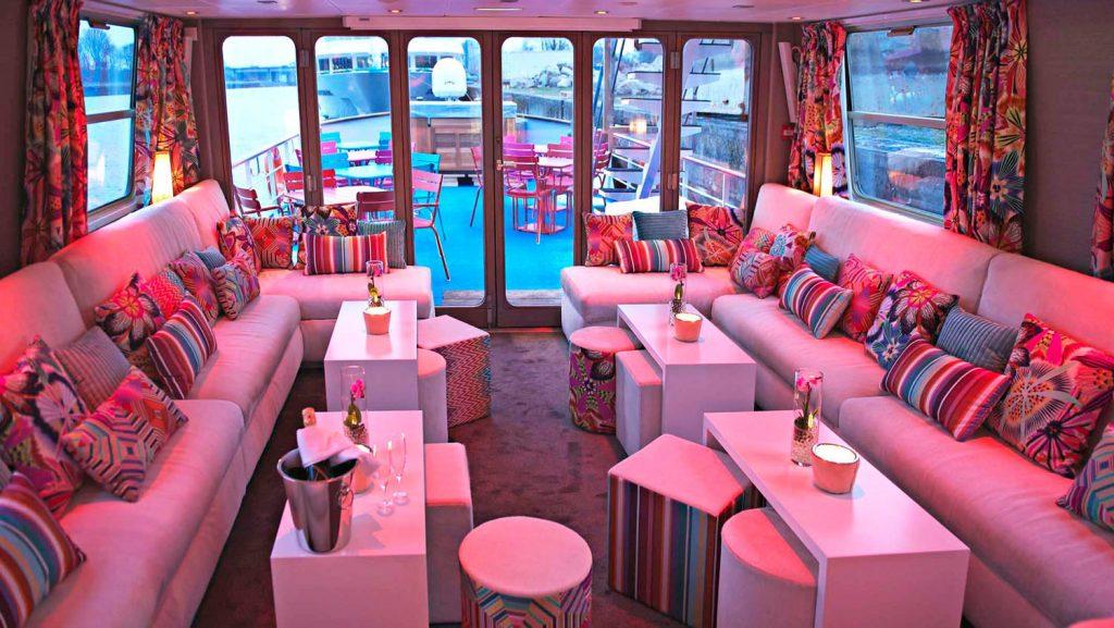 Das kleine Schiff bietet ein stylisches Ambiente. Foto: CroisiEurope