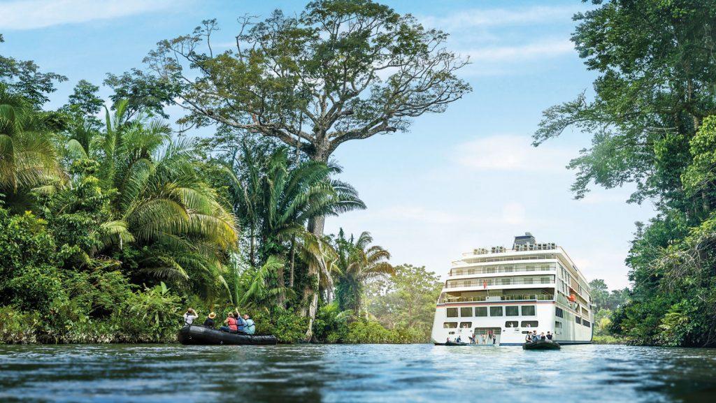 Ziele wie Amazonas oder Arktis und Antarktis gehören zum Programm. Foto: Hapag Lloyd Cruises