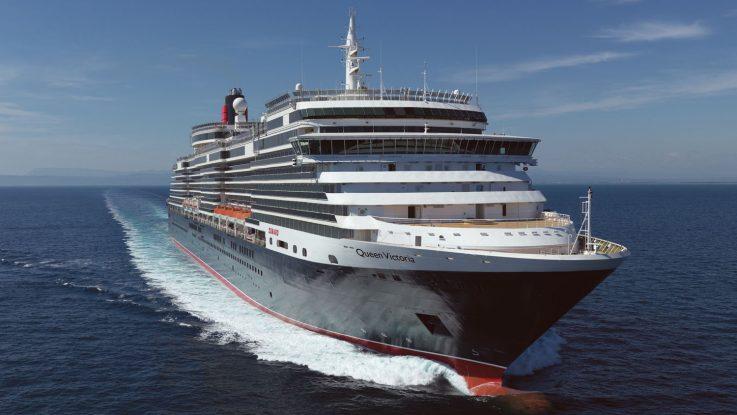 Die Queen Voctoria eröffnet in Hamburg die Kreuzfahrtsaison. Foto: Cunard