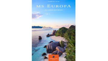 Zahlreiche Reise-Highlights im 20. Jubiläumsjahr von MS Europa. Foto: Hapag Lloyd Cruises