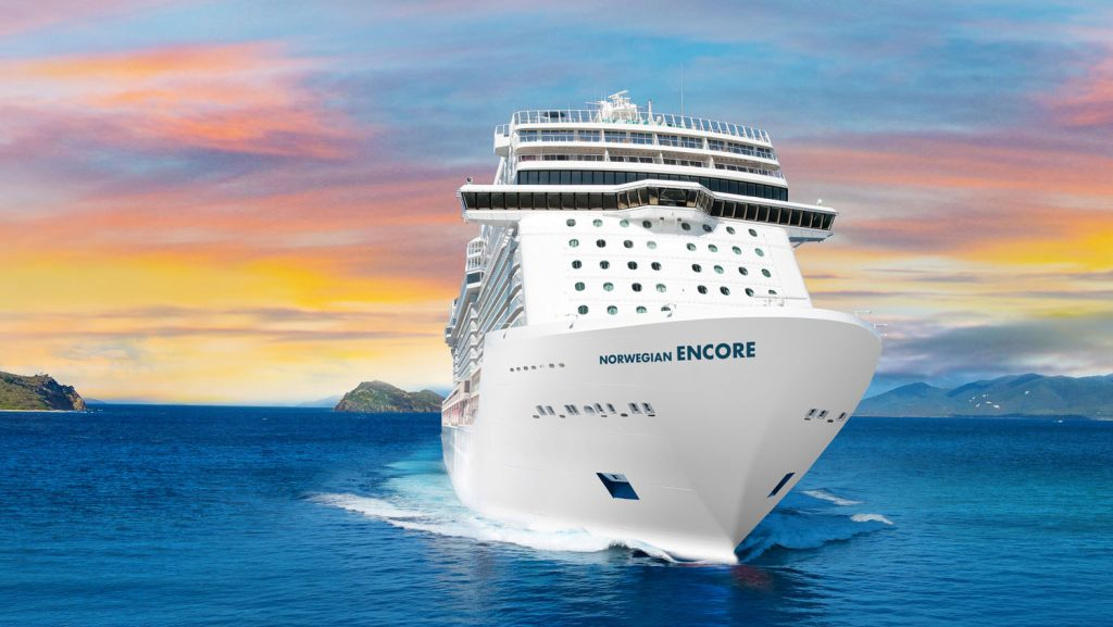 Die neue Norwegian Encore. Foto: Norwegian Cruise Line