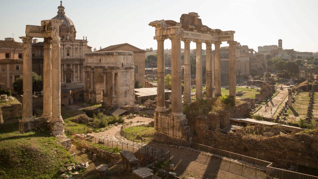 Das Forum Romanum in Rom gehört zu den Zielen in Rom. Foto: Disney Cruise Line/David Roark
