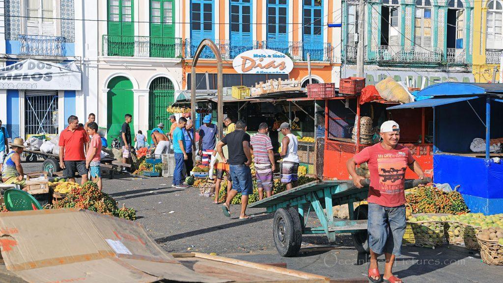 Eindrücke vom Ver-o-Peso Markt in Belem, Brasilien. / Foto: Oliver Asmussen/oceanliner-pictures.com