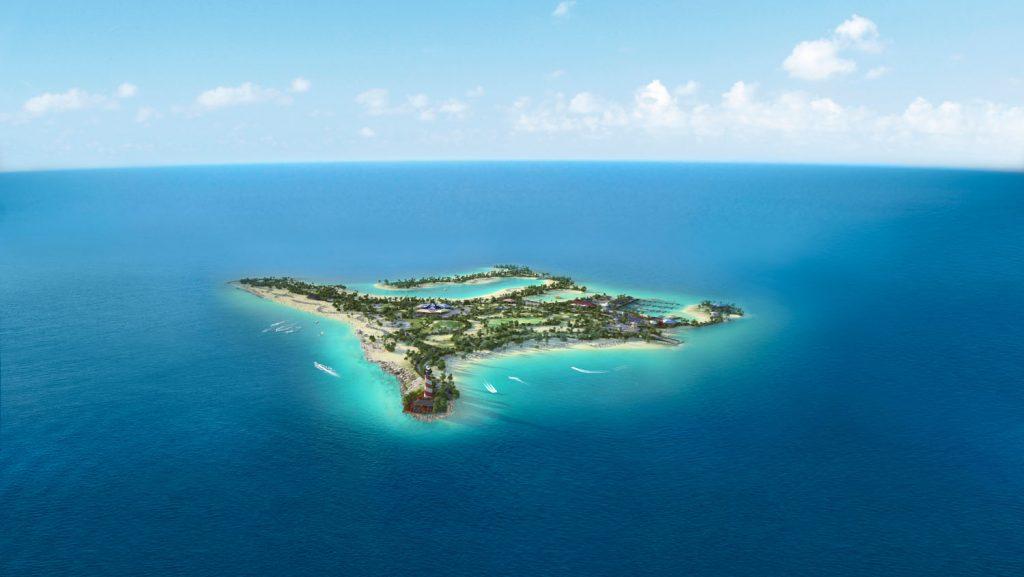 Ocean Cay MSC Marine Reserve erwartet die Kreuzfahrer. Foto: MSC Kreuzfahrten