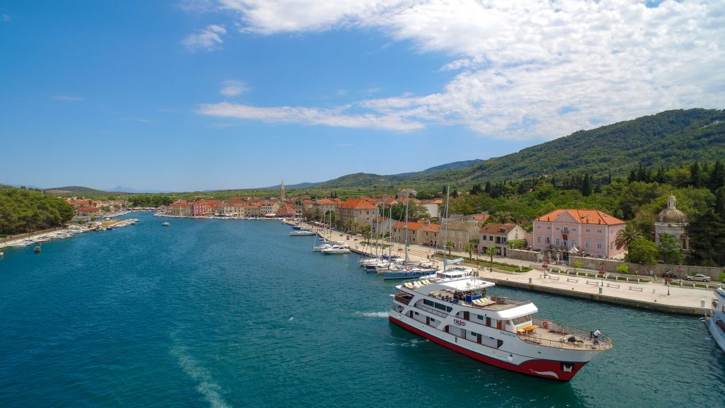 Die MS Dalmatia von nicko cruises. Foto: nicko cruises