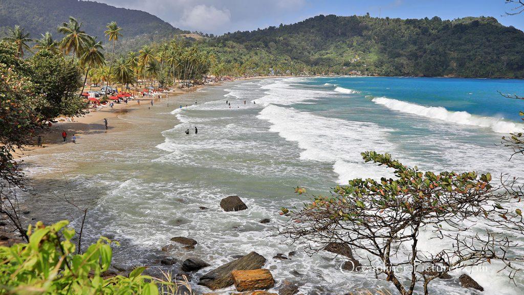 Maracas Bucht, Trinidad. / Foto: Oliver Asmussen/oceanliner-pictures.com