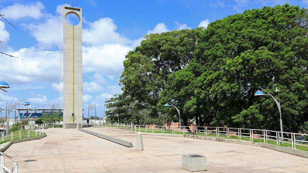Marco Zero Äquator-Denkmal in Macapa, Brasilien. / Foto: Oliver Asmussen/oceanliner-pictures.com