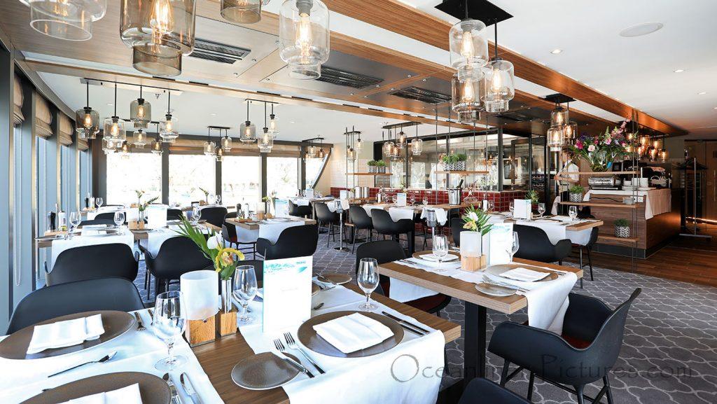 Spezialitäten-Restaurant MS Alena. / Foto: Oliver Asmussen/oceanliner-pictures.com