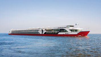 2018 startet nicko cruises mit dem Neubau nickoVISION. Foto: nicko cruises