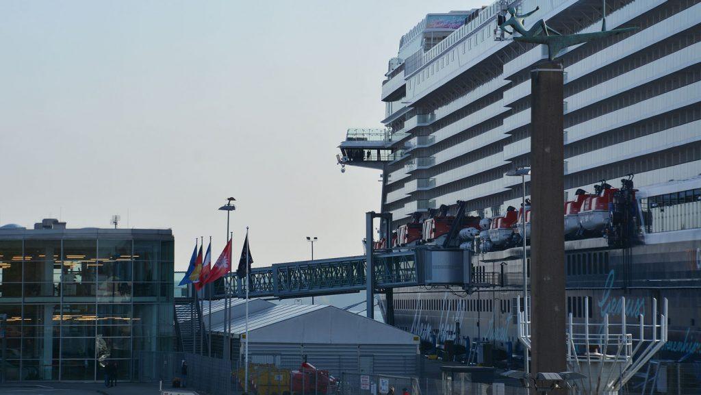 Die Mein Schiff 1 in Kiel. Foto: Port of Kiel