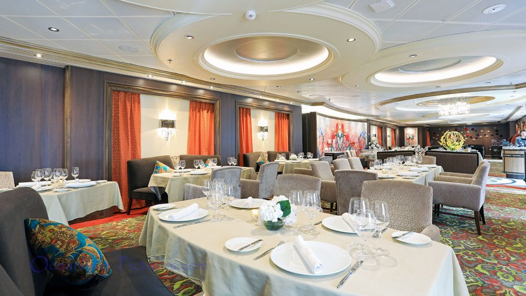 150 Central Park Restaurant Symphony of the Seas. / Foto: Oliver Asmussen/oceanliner-pictures.com
