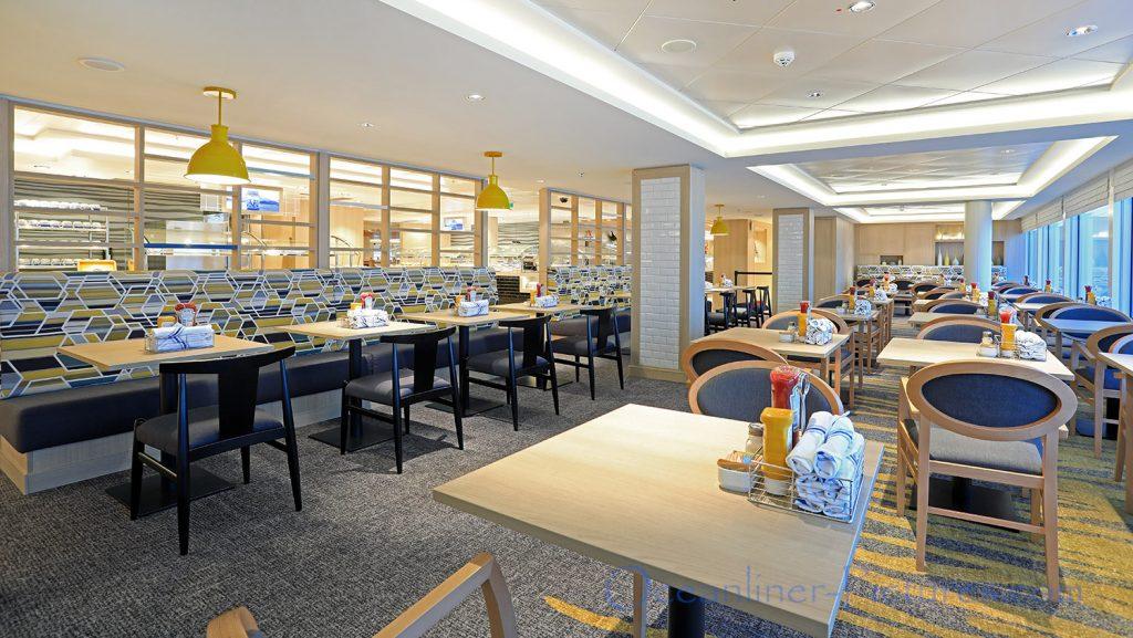 Buffet Restaurant Garden Cafe Norwegian Bliss. / Foto: Oliver Asmussen/oceanliner-pictures.com