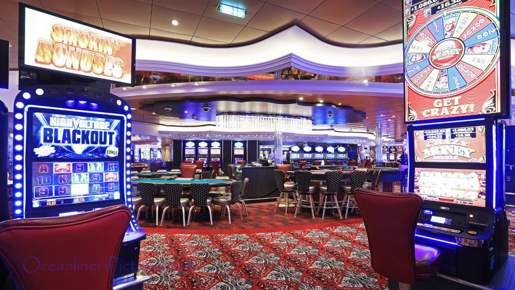 Casino Royale Symphony of the Seas. / Foto: Oliver Asmussen/oceanliner-pictures.com