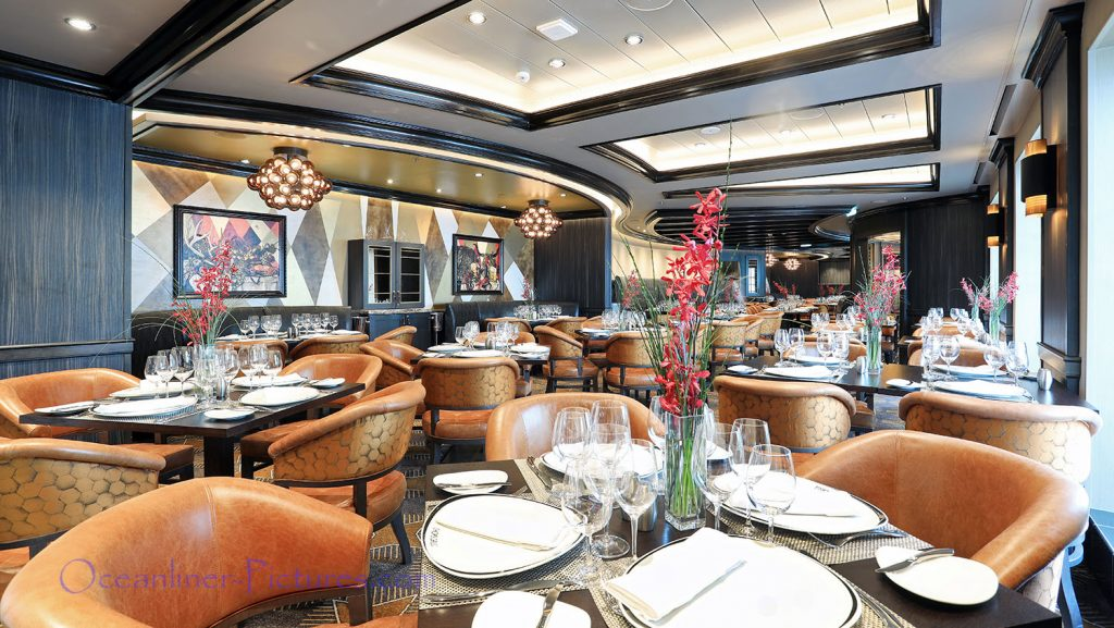 Chops Grille Symphony of the Seas. / Foto: Oliver Asmussen/oceanliner-pictures.com