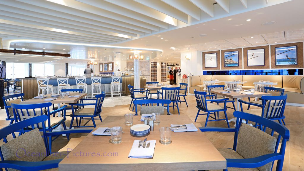Hooked Seafood Restaurant Symphony of the Seas. / Foto: Oliver Asmussen/oceanliner-pictures.com