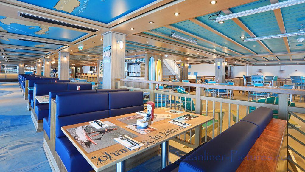 Jimmy Buffets Margaritaville Norwegian Bliss. / Foto: Oliver Asmussen/oceanliner-pictures.com