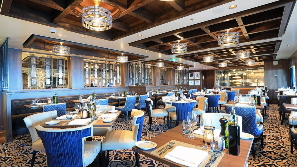 La Cucina Italian Restaurant Norwegian Bliss. / Foto: Oliver Asmussen/oceanliner-pictures.com