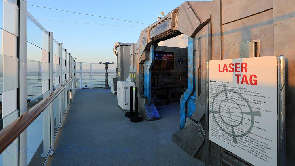 Laser Tag Norwegian Bliss. / Foto: Oliver Asmussen/oceanliner-pictures.com
