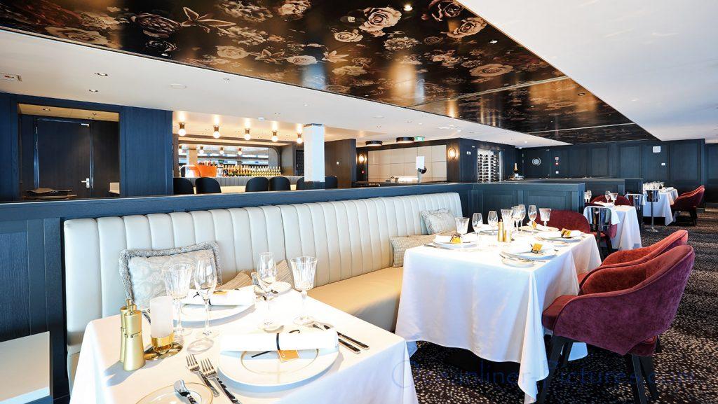 Le Bistro French Restaurant Norwegian Bliss. / Foto: Oliver Asmussen/oceanliner-pictures.com