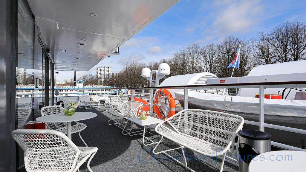 Lido Terrace MS Elbe Princesse II. / Foto: Oliver Asmussen/oceanliner-pictures.com